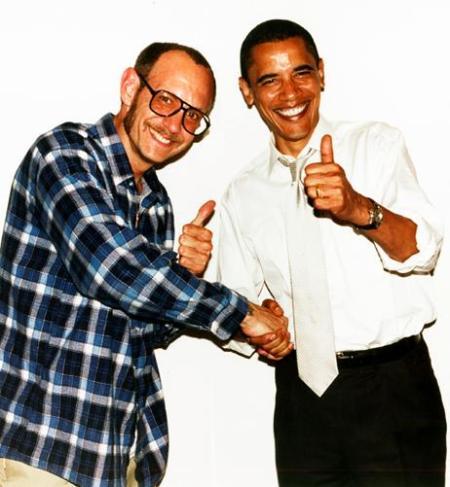 Terry e Obama, positivo e operante, hehe :)