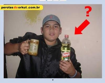bebedor de óleo soya, hahaha